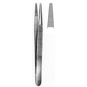 Bonney Disecting Forceps serrated 18cm