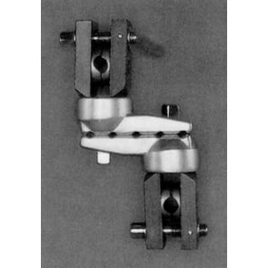 Universal Joint Clamp for 5 pins and 2 connecting rods / diagonal